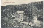 AK Klippermühle bei Tharandt 1920