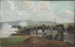 AK 1. Weltkrieg Geschütze Soldaten Pferde 1915