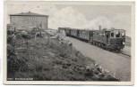 AK Foto Harz Brocken Bahnhof mit Zug b. Schierke Wernigerode 1953 RAR