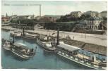 VERKAUFT !!!   AK Riesa Landungsplatz der Dampferschiffe Ortsansicht 1908