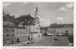 AK Foto Löbau in Sachsen Altmarkt mit Rathaus Feldpost 1940