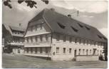 AK Foto St. Georgen Schwarzwald Hotel Hirsch 1958