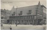 AK Hannover Altes Rathaus mit Menschen 1910