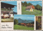 AK Flintsbach am Inn Hohe Asten mit Blick auf die Tiroler Alpen 1968
