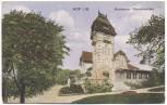 AK Hof an der Saale Restaurant Theresienstein Bayern Feldpost 1917