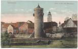 AK Grebenstein Partie an der alten Stadtmauer Hessen 1931