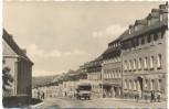 AK Foto Zöblitz Erzgebirge Blick in die Hauptverkehrsstraße mit LKW 1959