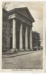 AK Foto Frankenthal Pfalz Portal der prot. Kirche 1930