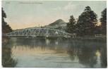 AK Jena Schützenbrücke mit Hausberg 1907
