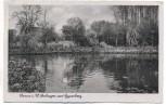 AK Herne in Westfalen Anlagen am Gysenberg 1942