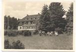 VERKAUFT !!!   AK Foto Erbenhausen Eisenacher Haus auf dem Ellenbogen Menschen im Klappstuhl b. Meiningen Rhön 1940
