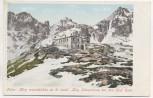 AK Hohe Tatra Tery Terry Schutzhaus bei den fünf Seen Vysoké Tatry Slowakei 1910