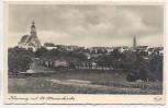 AK Foto Kamenz mit St. Marienkirche Ortsansicht 1935