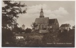 AK Foto Kamenz in Sachsen Hauptkirche mit Herrental 1920