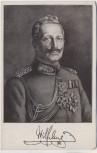 Künstler-AK Kaiser Wilhelm II. mit Orden 1915