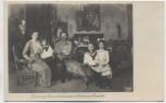 AK Foto Erzherzog Franz Ferdinand d'Este mit Familie Kosel Wien 1910