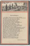 AK Max Immelmann Jagdpilot Jagdflieger 1. WK Gedicht B. Goldschmidt Adler mit Kranz Patriotika 1916