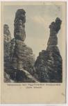 AK Herkulessäulen beim Maggi-Ferienheim Schweizermühle b. Rosenthal-Bielatal Sächs. Schweiz 1926