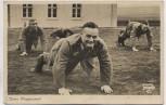 AK Foto Unsere Wehrmacht Beim Morgensport 1937