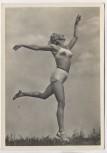 AK Foto Frau Schönheit der Gymnastik Der schöne Schwung Verlag Schwerdtfeger 1940