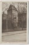 AK Alt-Freiberg Schloß Freudenstein mit angrenzendem Stadtmauerturm Freiberg 1915