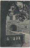 AK Weesenstein Eingang zum Schloss b. Müglitztal Sachsen 1909