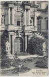 AK Dresden Kgl. Grosser Garten Partie vor dem Palais 1900