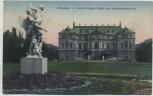 AK Dresden Großer Garten Palais vom Schmuckgarten aus 1908