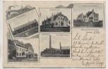 VERKAUFT !!!   AK Rethen Leine Laatzen Strassenbahn-Depot Kantine Maschinenhaus Wagenhalle .. 1903 RAR