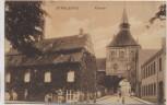 AK Stralsund Kütertor mit Menschen 1906