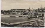 AK Foto Löbejün Schwimmbad b. Wettin 1960