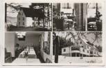 AK Mehrbild Gebhardshain Evgl. Müttererholungsheim Kurhaus Waldfrieden b. Wissen Westerwald 1960