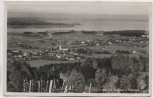 AK Foto Bernau am Chiemsee Ortsansicht mit Rasthaus 1939