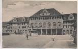 AK Essen Ruhr Gasthaus Margarethenhöhe mit Menschen Feldpost 1916