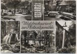 AK Mehrbild Loffenau Waldrestaurant zur Plotzsägemühle b. Herrenalb 1967