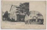 AK Gruss aus Wald-Hotel Iserbrook bei Blankenese Hamburg 1906 RAR