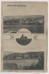 AK Gruss aus Kreuzthal Ortsansicht mit Katholische Kirche Creuzthal b. Buchenberg Allgäu Schwaben 1912 RAR