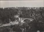 AK Blick auf Grünwalder Brücke Isartal Grünwald Pullach 1961