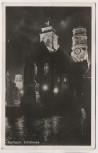 AK Foto Stuttgart Stiftskirche bei Nacht 1951