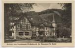 AK Foto Sitzendorf Gasthaus zum Eisenhammer Blockschmiede Thüringen 1955