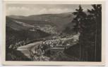 AK Foto Sitzendorf im Schwarzatal Ortsansicht Thüringer Wald 1956