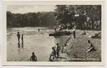 AK Foto Königs Wusterhausen See u. Strandbad am Krimnicksee viele Menschen 1953
