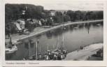AK Foto Ostseebad Eckernförde Hafenpartie 1940