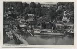 AK Foto Ostseebad Eckernförde Hafenpartie mit Häusern und Schiffen 1940