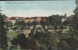 AK Gotha Orangerie u. Schloss Friedrichstal 1911