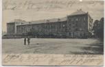 AK Bückeburg Kaserne des 7. Jäger-Bataillons mit Soldaten 1904