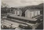 AK Foto Sondershausen Blick vom Schloß Bus und Häuser 1967
