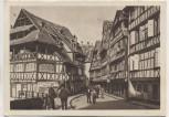 AK Strassburg Pflanzbadgasse Strasbourg Elsass Bas Rhin Frankreich 1930