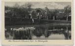 AK Foto Abtei Mariawald b. Heimbach Eifel Im Klostergarten mit Mönchen 1935