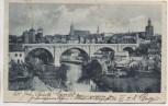 AK Bautzen Kronprinzenbrücke 1919